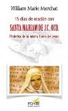 15 días de oración con Santa Mariam de J.C.