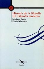 Historia de la filosofía. III Filosofía moderna