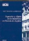Separatio y objeto de la metafísica en Tomás de Aquino