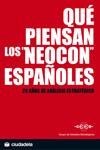 Qué piensan los neocon españoles