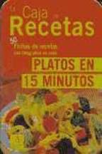 La caja de recetas - Platos en 15 minutos