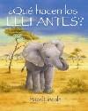 ¿Qué hacen los elefantes?