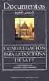 Documentos de la Congregación para la Doctrina de la Fe (1966-2007)
