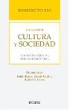 Benedicto XVI habla sobre cultura y sociedad