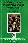 Comentario al Evangelio según San Juan. Capítulo 20 y 21