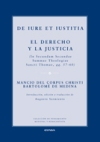 De Iure et Iustitia. El Derecho y la Justicia