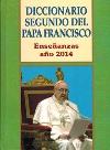 Diccionario segundo del Papa Francisco