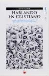 Hablando en cristiano