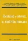 Identidad y estatuto del embrión humano