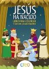 Jesús ha nacido. Libro para colorear y leer con los más pequeños