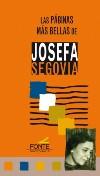 Las páginas más bellas de Josefa Segovia