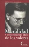 Moralidad y conocimiento ético de los valores