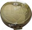 Portaviático dorado IHS