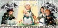 "Postal Ferrandiz CH ""Virgen paraguas"""