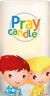 Pray candle Vela led para rezar