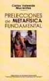 Prelecciones de metafísica fundamental