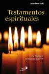 Testamentos espirituales