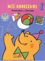Mis adhesivos 3. Animales y formas