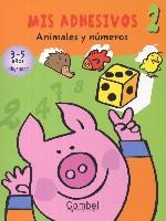 Mis adhesivos 2. Animales y números
