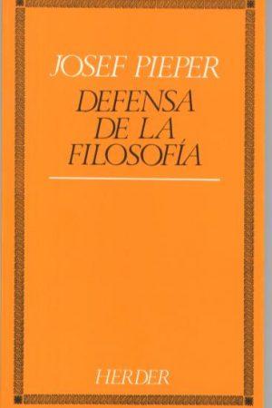Defensa de la filosofía