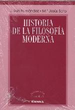 Historia de la filisofía moderna