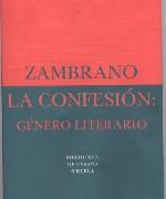 La confesión: género literario