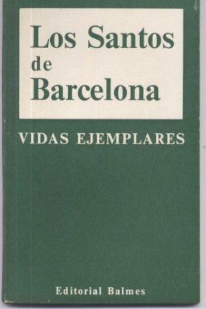 Los santos de Barcelona