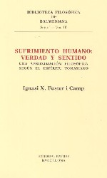 Sufrimiento humano: verdad y sentido